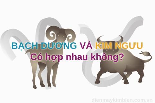 Bạch Dương và Kim Ngưu có hợp nhau không